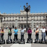 Guided tour on a Segway