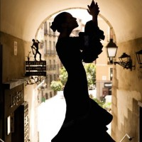 Spanish dancing charm