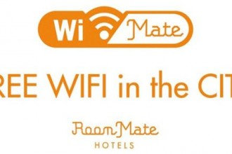 Room Mate Hotels offers free wi-fi inside and outside hotels