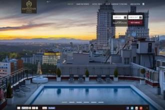 A brand new website for Hotel Emperador Madrid