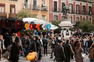 October welcomes record number of tourists and overnight stays in Madrid