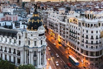 Madrid ties with Paris for second place in the ranking of Europe's 25 large metropolises