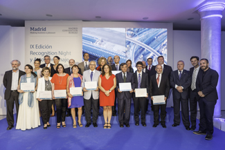 Madrid pays tribute to the opinion leaders who bolster the city's congress tourism at Recognition Night