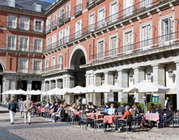 Record number of visitors came to the city of Madrid this summer