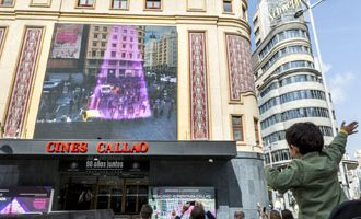 Callao City Lights venue, the first permanent Augmented Reality platform in Spain