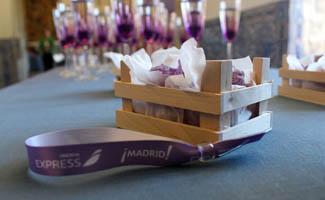 Madrid Violet flies the European skies