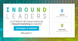 Inbound Leaders, el mayor evento de inbound marketing en español, en Madrid