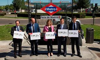Ifema Feria de Madrid ya tiene parada de metro