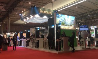 Stand de Madrid en IBTM World 2017