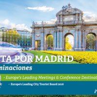 Madrid nominada en los World Travel Awards 2018