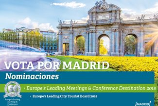 Madrid nominada en los World Travel Awards 2018