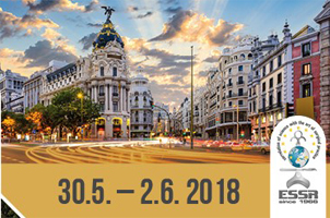 Logo ESSR 2018 Madrid