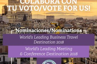 Doble nominación de Madrid en la edición mundial de World Travel Awards