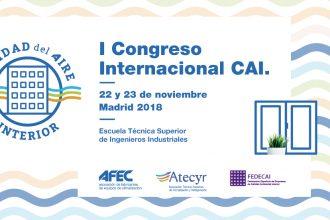 Los principales expertos sobre calidad del aire interior participan en el I Congreso CAI