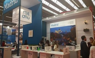 Stand Madrid Convention Bureau IMEX'19
