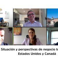 Perspectivas mercado turístico en USA y Canadá