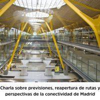 Perspectivas para la conectividad aérea de Madrid