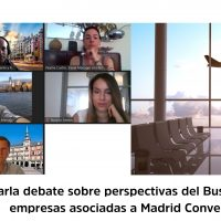 Charla Debate Perspectivas del Business Travel