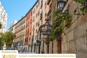 Vota por Madrid en los European World Travel Awards
