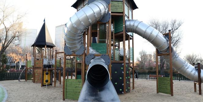 ecbfd2944 Áreas de juegos infantiles