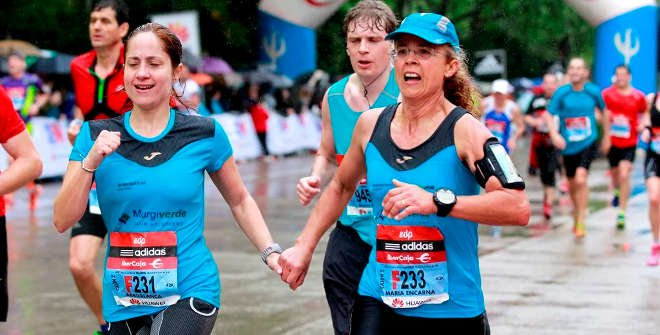 Maratón de Madrid 2015. Llegada.