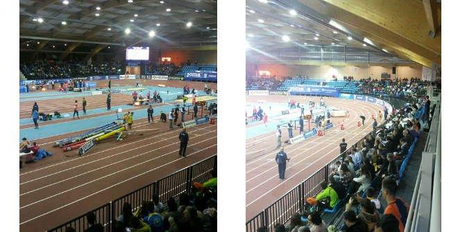 Reunión Internacional de Atletismo en Pista Cubierta Villa de Madrid 2016