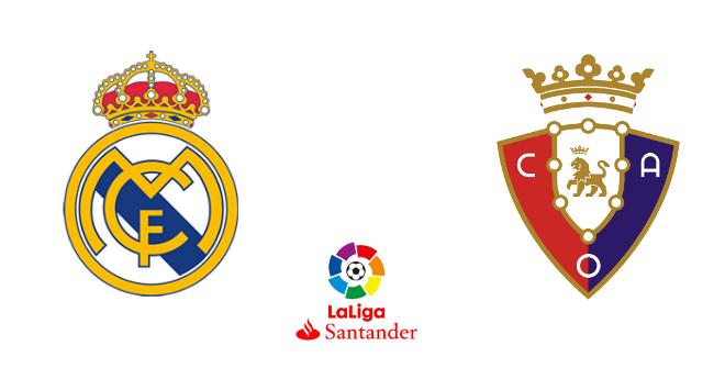 Real Madrid - Club Atlético Osasuna (Liga Santander)