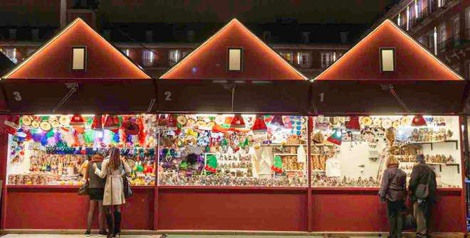 Mercado de navidad de la plaza mayor - Mercado de navidad en madrid ...