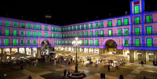 Video Mapping Plaza Mayor