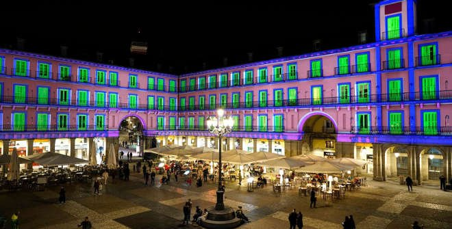 Video Mapping Plaza Mayor