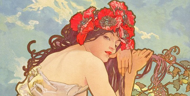 The Seasons: Summer, 1896. © Mucha Trust