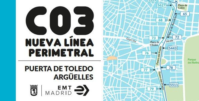 C03 Puerta de Toledo-Argüelles