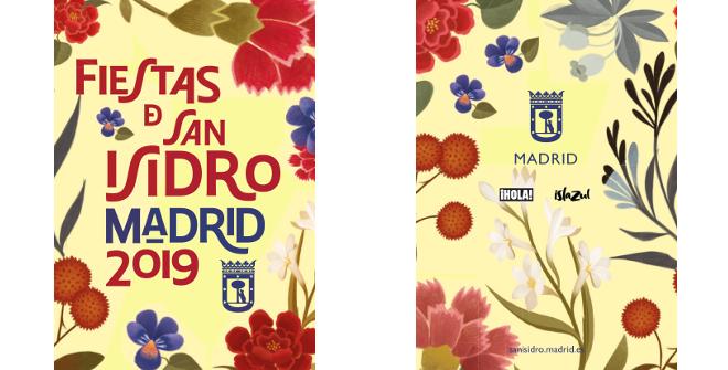 Cartel Fiestas de San Isidro 2019