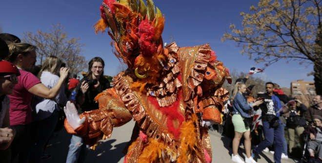 Desfile/pasacalles Carnaval 2020 Madrid Río