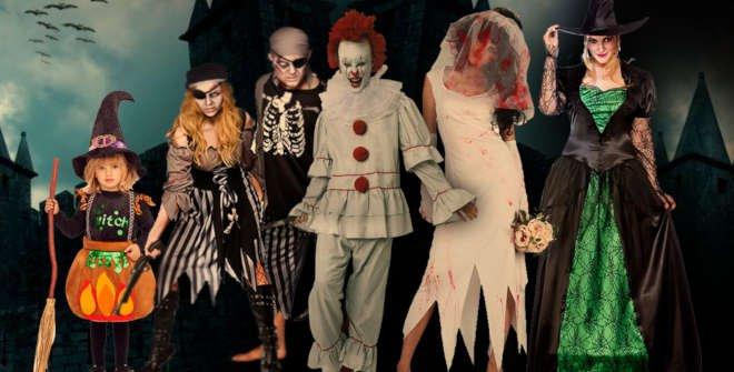 Disfraces para Halloween. Tienda Maty