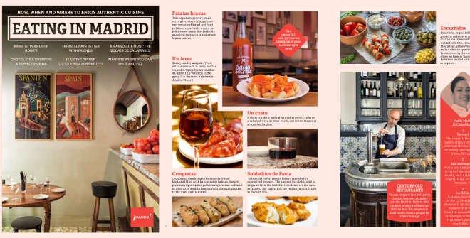 Eating in Madrid