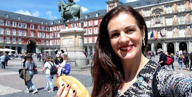 Los 10 selfis de Madrid