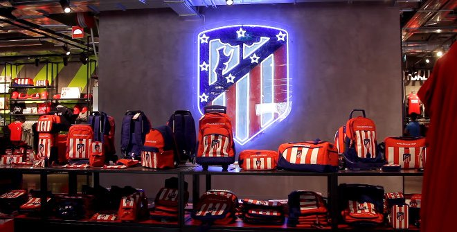 Tiendas de equipos de fútbol