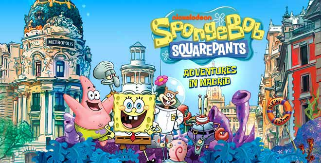 Guide SpongeBob Squarepants. Adventures in Madrid