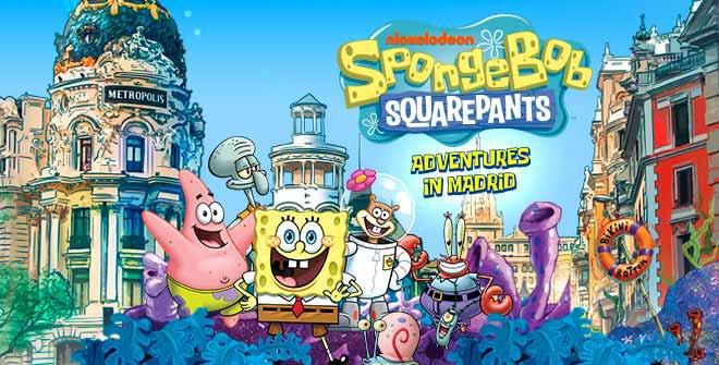 Guide SpongeBob Squarepants. Adventures in Madrid