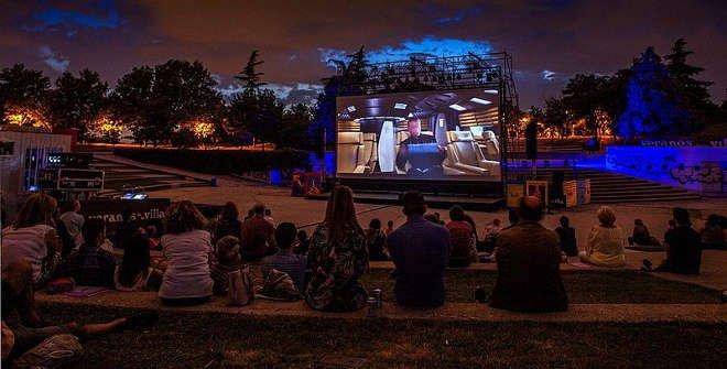 El Tierno Galván acoge este verano la vuelta de la pantalla grande