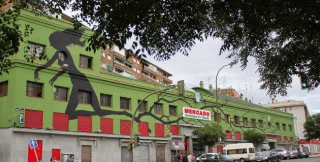 Compartiendo muros - Tetuan mercado