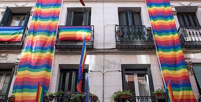 Calles de Madrid. Chueca. LGTBI