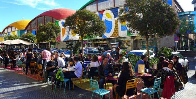 Mercado de La Cebada / La Latina