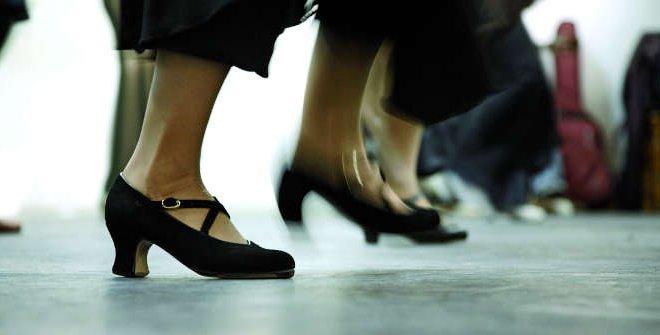 Zapateado flamenco