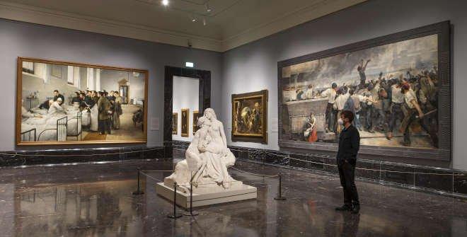 El fin de siglo. Sala 61 A del Museo Nacional del Prado ©Museo Nacional del Prado (660 x 335)