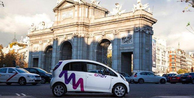 Conducción en Madrid - emov