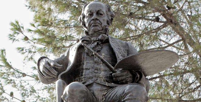 Estatua de Francisco de Goya / José San Bartolomé LLaneces © Museo Nacional del Prado
