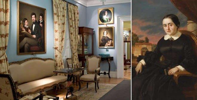 "Museo del Romanticismo. ""Fernán Caballero"" Cecilia Böhl de Faber. Valeriano Domínguez Bécquer. Museo del Romanticismo."
