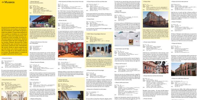 """Folleto """"Madrid: Arte y cultura: Museos"""" (PDF). Diciembre 2018"""